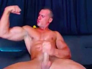 Muscle God Verbal Jerk Off Webcam